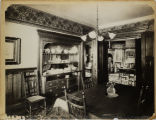 Dining room in residence of Samuel Rose