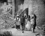 Santa Clara Indian wedding at cliff-dwellings in Manitou, Co Petra Louza [i.e. Souza] & Joseph...