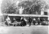 Overturned trolley