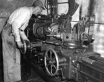 Machine Shop in Cushman Bldg. about 1952-3