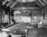 Billiard room A. W. Chamberlain house (on 12th and Alta Sts.)