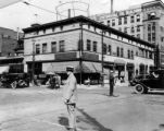 Welton and 17th Streets, Denver - prior to wrecking for new Patterson Bldg