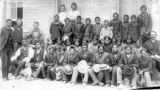 Arapahoe and Shoshone children