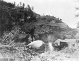 Hydraulic mining, San Juan County, Colorado