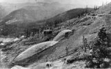 Hydraulic mining near Breckenridge, Colorado