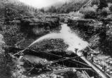 Hydraulic sluicing - Atlin G. M. Co., British Columbia