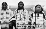 Three noted Sioux women from S. Dakota