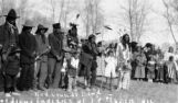 Red Clouds Band of Sioux Indians at Ft. Robinson