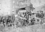 Troop D state militia from Meeker, Colorado at Cripple Creek, Colorado