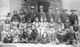Native American boys and girls