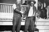 Burnt All Over Cheyenne 78 years of age and his steadfast friend DeWitt C. Hayes Estate Clerk...