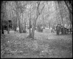 Picnic grounds, South Platte, C. & S. Ry.