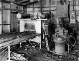 Climax, Colo., automatic electrical furnace and steel sharpener
