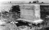 Headstone of Chief Washakie who was known as the whiteman's friend