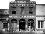 J. S. & J. F. Brown Wholesale Grocers