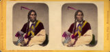 Kish-te-taw-wag, (The cut ear), Chippewa brave
