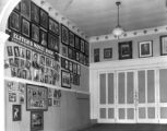 Elitch Theatre lobby showing part of the photograph collection