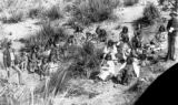 Chiricahua Indian prisoners at Ft. Bowie, Arizona Territory