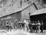 Miners at a Doric Gold Mine