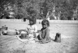 Navajo babes in camp
