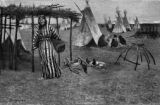 A Cheyenne camp