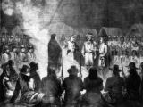 The Grand Council held at General Crook's headquarters on Goose Creek, June 15th : Wyoming...
