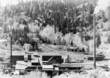 Ouray smelter, blown up