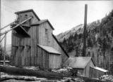 Mount Goram mill, Rico, Colo., on the west Dolores