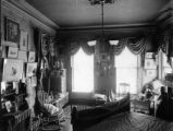 First view bedroom of Miss Mary McLean Bancroft Dr. F. J. Bancroft residence 1755 Grant