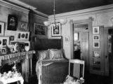Fourth view east bedroom of Mary McLean Bancroft Dr. F. J. Bancroft residence 1755 Grant, Denver