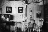 Bedroom of Mr. & Mrs. G. J. Bancroft while staying probably at 1755 Grant with Dr. F. J....