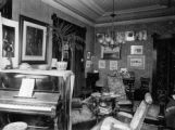 Middle room, music room F.J. Bancroft 1890's Bancroft residence 1755 Grant