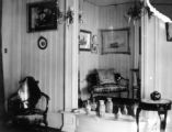 Parlor mirror 1445 Gaylord St this house belonged to Channing Sweet
