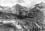 In the Red Mtn mining district near Ironton, Governor Peak, Spirit Basin and Galena Lion (left to...