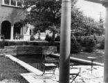 S. E. Kohn Garden and pool - 770 High - S. R. DeBoer, Landscape Architect