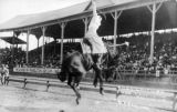 Rose Smith on Jiggs, Pendleton Round-Up