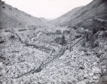 Hydraulic mining near Virginia City, Montana