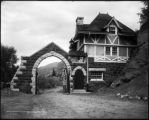 Lodge gate, Cleveholm, Redstone, Colo.