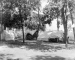 Campsites at Overland Park auto camp