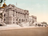 Washington, West Facade, Library of Congress