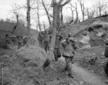 POWs head down and GIs up Italian trail