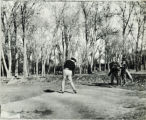 Golfers at Overland Country Club