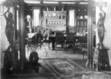 Dining room, burned Dec. 8, 1911 [Frederick Warshauer residence].