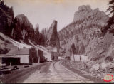 Creede near Wagon Wheel Gap junction