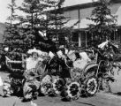 Fourth of July 1897, Crested Butte, Colo., Ernestine Block and Alberta Metzler