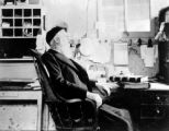 V. F. Axtell, in his office, Crested Butte, Colo.