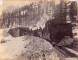 Snow shed & snow plow H. Pass