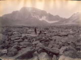 The boulder field and Longs Peak