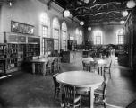 Interior of Woodbury Library