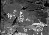Indian hieroglyphics, Shavano Valley, Montrose Co. Colo.